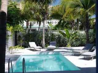 Soleil Blanc, 2 bedrooms gorgeous villa, ocean front
