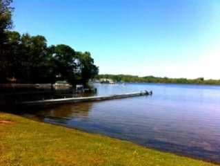 3600 sq ft on Hutchins sports Lake (nr Saugatuck) private dock public launch