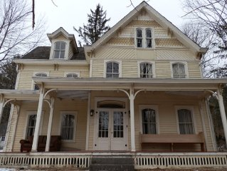 Elegant Country Victorian in the heart of the Catskills