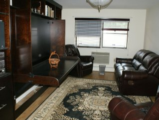 Luxury One Bedroom Quiet & Clean Apartment In A Nice Neighborhood.