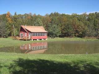 Grey's Getaway Cabin #2 Relaxing cabin, Pet friendly,heart of the Finger Lakes