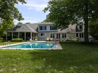 Large Luxury Waterfront Home with pool...... 2 1/2 miles from the center of town