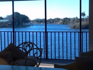 SUNSET POINT ON HOMOSASSA RIVER-TRUE RIVERFRONT PROPERTY WITH BOAT DOCK.
