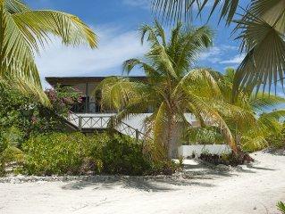 Stunning Luxury Beachfront Villa! Exclusive Private Windermere Island! 70' Dock!