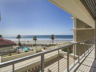 Luxury Oceanfront 2BR/2BA Coronado Shores Condo in La Sierra Building