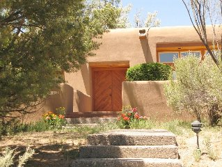 Stylish Mountain Retreat with Pool--Close to Santa Fe, Full of Southwestern Art