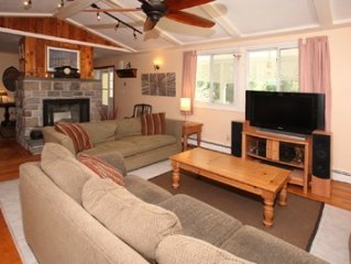 A large, cosy, private family home just a short walk to the beach; come relax!