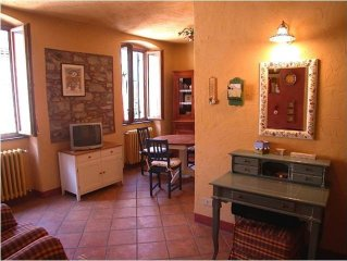 Enchanted, charming rustico apartment. For small and big dreamers!