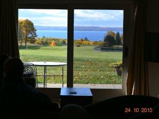 Beautiful View Of Little Traverse Bay & Lake Michigan!