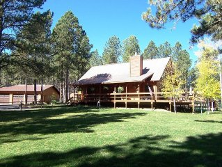 Deer Meadow Lodge nestled on 3 acres in the Heart of the Black Hills