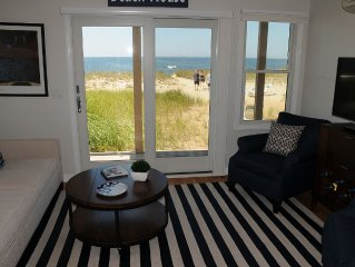 Dreamy Beachfront Condo --- New 2 Br -- 90Ft From Water -- Sleeps 4