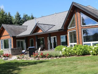 COMPLETELY RENOVATED RUSTIC INDUSTRIAL ESTATE ON WALLOON LAKE IN PETOSKEY!