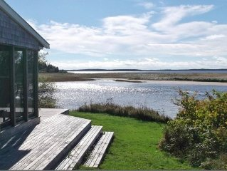 Spectacular views of beach from this waterfront cottage