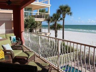 Luxury Beachfront Condo Directly On Gulf Of Mexico