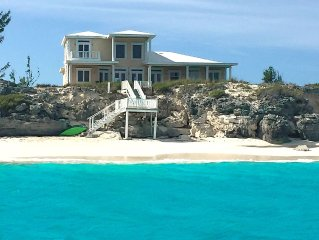 'The Cut Pearl' - Stunning Private Beachfront/Oceanfront Villa On Little Exuma