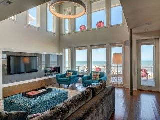 Modern Oceanfront Home With Elevator