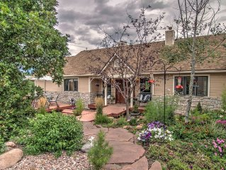 Family Home on 2.25 acres with view of Blodgett Peak  and city
