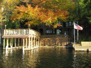 Adirondack Getaway Right On Lake Hadlock With Lake George only 12 Miles Away!