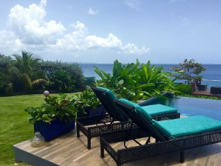 Beautiful and Elegant 6 bdrm Ocean Front House with direct access to the water