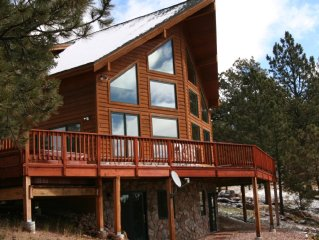 Executive Mountain Home on 70 Acres with Spectacular Views