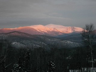 Panoramic Mount Washington Views from Private Chalet