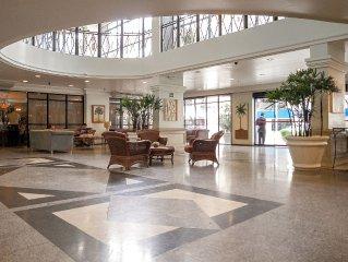 Meireles - Flat Hotel! (Room c / HR, Living / AR, kitchen, garage, WiFi)