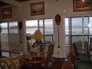 Huge Oceanfront Lanai - Breathtaking Views!