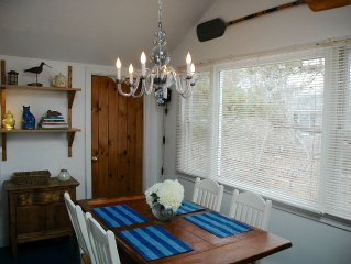 Charming Cottage - Just 1 Block (3 minute walk) to Private Association Beach!