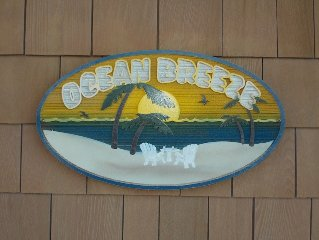 Two Minute Walk to the Beach--One if you Run at Ocean Breeze!