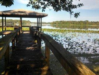 Sebring Lakefront Home - Lake Josephine 'Little Piece Of Heaven'
