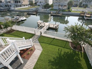 Canal home with afternoon shade on decks - close to beach - 12 Moore St.