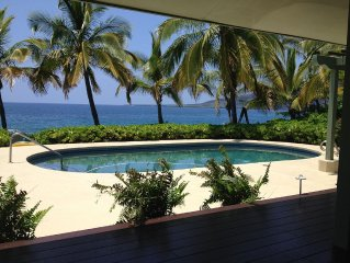 Ocean Front Home with Pool and Spectacular Views     Tax # TA-*******-8768-01
