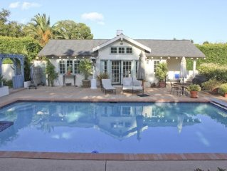 Charming Montecito Guest Cottage with Pool and Tennis Court