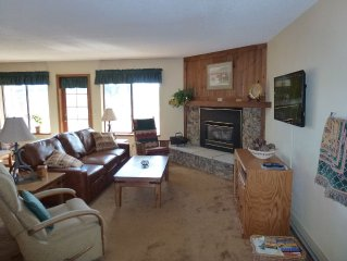 Cozy, Large Condo Adjacent to National Forest