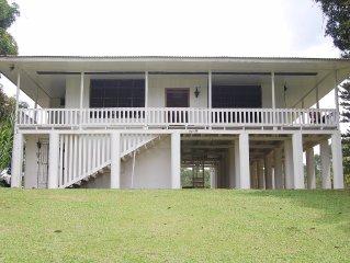 Rustic charming farmhouse on 300 acres of lush  rainforest on Sarapiqui river