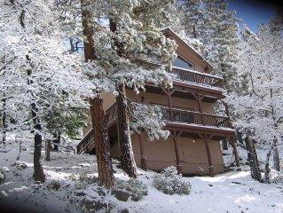 Stay inside Yosemite Park gates between Yosemite Valley & Wawona near Glacier Rd