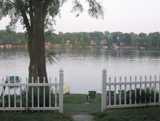 Quiet Lakefront Home on All Sports Lake