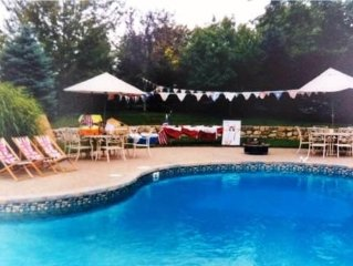 Beautiful Home In Chatham, MA. Private Pool. 2 Min Walk to Town, 8 to Beach! A/C