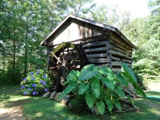 WaterWheel Cabin Private 2/2 Cabin $99wknghts / $109 wknds.