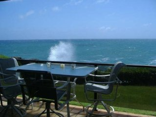Breathtaking Oceanfront Condo, 20 Feet to Ocean