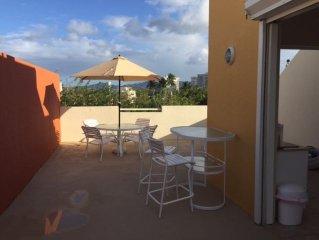 Beach Front Penthouse Apartment - Fabulous Terrace, 1000 sf