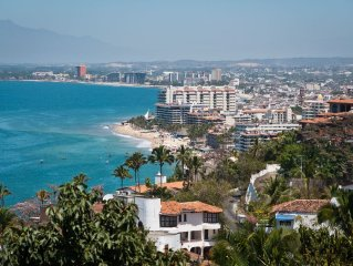 Casa Chile for rent in downtown (el centro) Puerto Vallarta - Ocean Views!