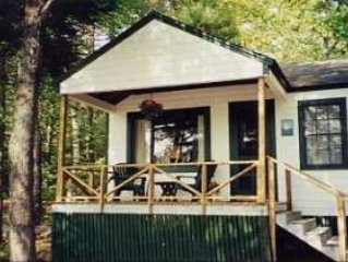 Cabin in the Woods Across from Lake & Beech Mountain