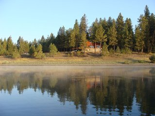 Pend Oreille Lodge... Overlooking the river and Selkirk mountains