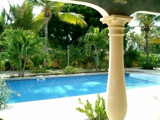 Aruba Malmok Villa Bon Bida. Oceanfront, quiet, safe and all private.