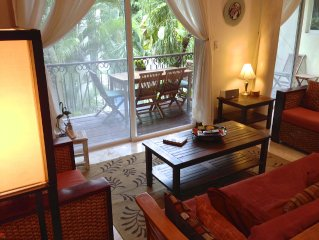 Steps from 5th and Mamitas Beach! And the Reviews Say.....  Great Location!