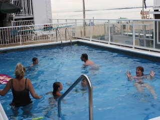 #33 Waverly Condo Ocean View on Beach with pool for rent * Old Orchard Beach