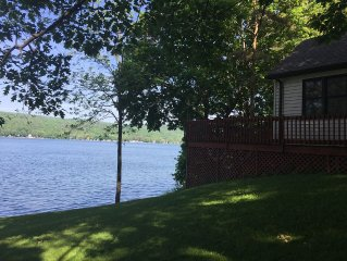 Newly Listed Gorgeous Waterfront Cottage On The Finger Lakes