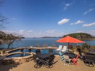 Spectatacular Waterfront with 2 Private Piers and Fabulous Lake side Pool!!