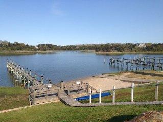 Cape Escape~Perfect For 2 Families, Private Beach & Dock On A Private Road!